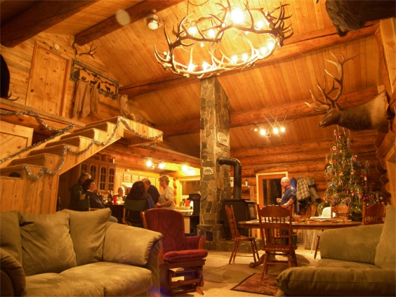 Hunting Cabin Interior Do It Yourself Hunting Cabins: Accomodations